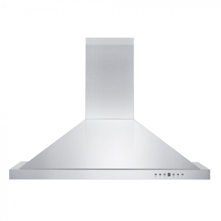 "ZLINE 42"" Outdoor/Indoor Stainless Steel Wall Range Hood, KB-304-42 - Farmhouse Kitchen and Bath"