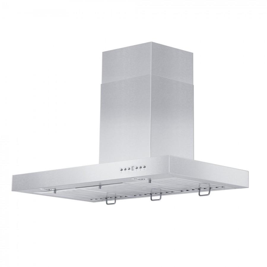 "ZLINE 42"" Stainless Steel Wall Range Hood KE-42 - Farmhouse Kitchen and Bath"
