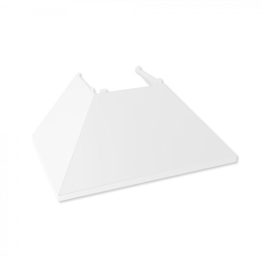 "48"" Colored Range Hood Shell in White Matte, Shell Only, 8654-SH-WM-48 - Farmhouse Kitchen and Bath"