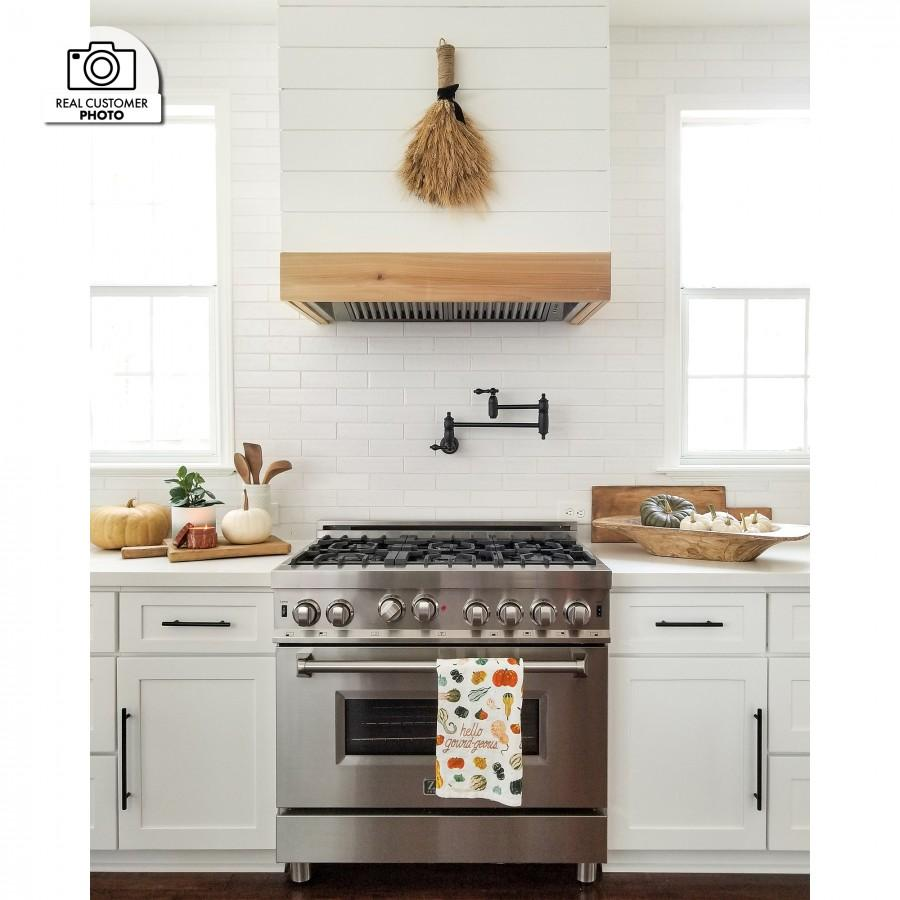 "ZLINE 46"" Remote Dual Blower Stainless Range Hood Insert, 695-RD-46 - Farmhouse Kitchen and Bath"