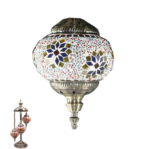 Handmade Floor Lamp With 3 Globe-342
