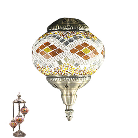 Handmade Floor Lamp With 3 Globe-346
