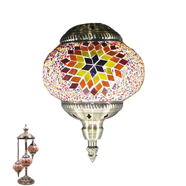Handmade Floor Lamp With 3 Globe-338