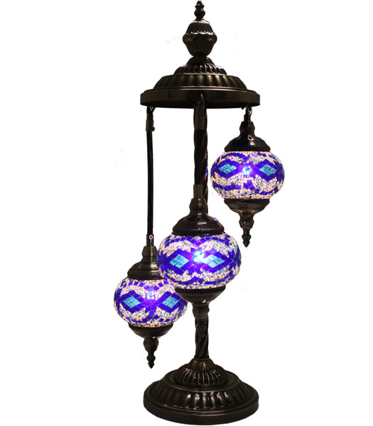 Handmade Floor Lamp With 3 Globe-344