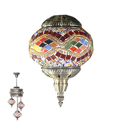 3 Globe Ceiling Hanging Lamp 956
