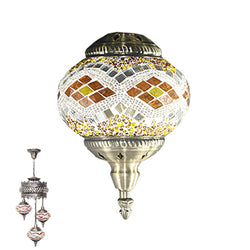 3 Globe Ceiling Hanging Lamp 962