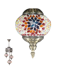 3 Globe Ceiling Hanging Lamp 963
