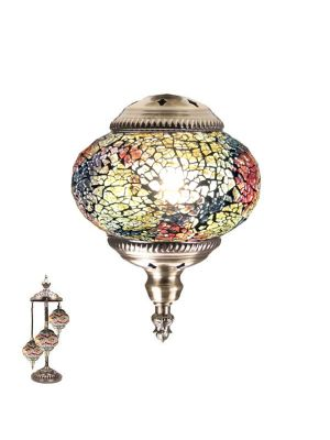 Handmade Floor Lamp With 3 Globe-352