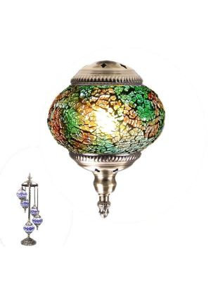 Handmade Floor Lamp With 5 Globe-385
