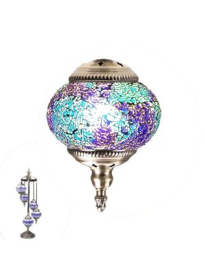 Handmade Floor Lamp With 5 Globe-386