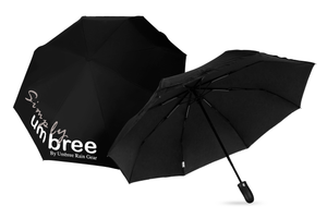 Black Simply Umbree Folding Umbrella