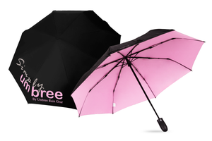 Pink Simply Umbree Folding Umbrella