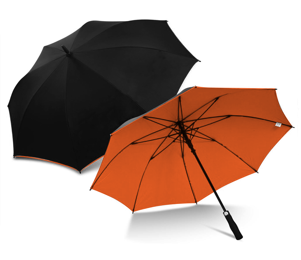 Orange Simply Umbree Golf Umbrella