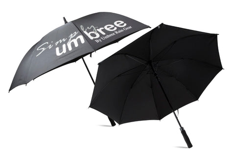 Black Simply Umbree Golf Umbrella