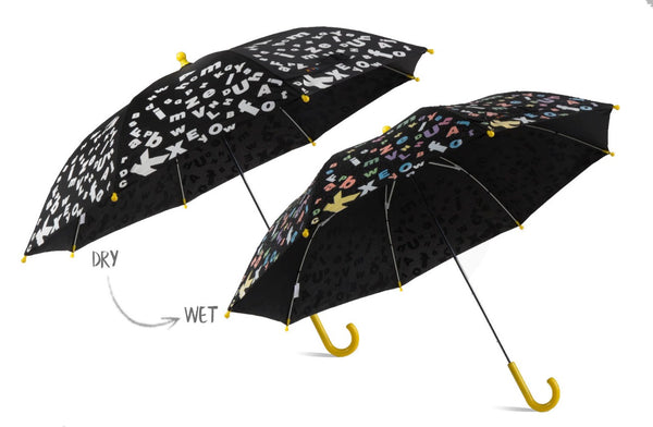 MyBrellie Kids Color Changing Black Umbrella