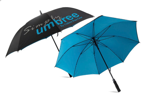 Light Blue Simply Umbree Golf Umbrella