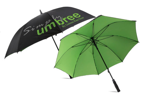 Lime Green Simply Umbree Golf Umbrella
