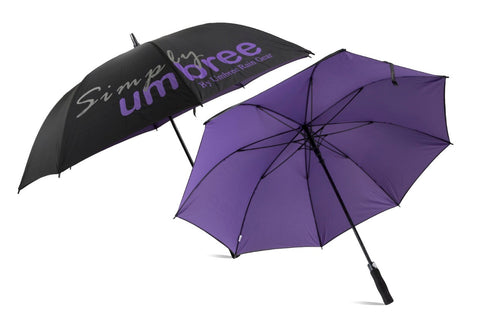 Purple Simply Umbree Golf Umbrella
