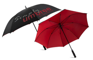 Red Simply Umbree Golf Umbrella
