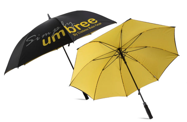 Yellow Simply Umbree Golf Umbrella