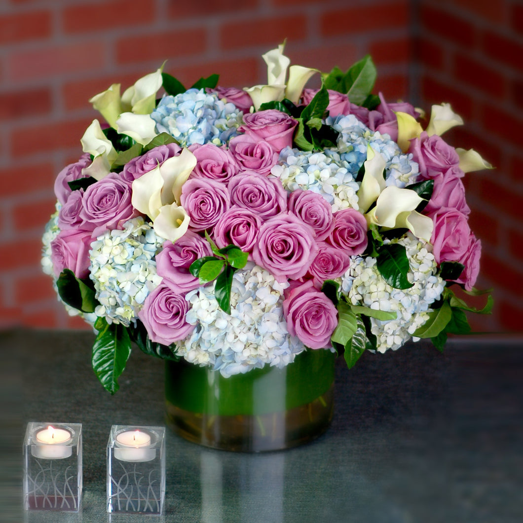 Mix Lavender And Blue Summer Bouquet