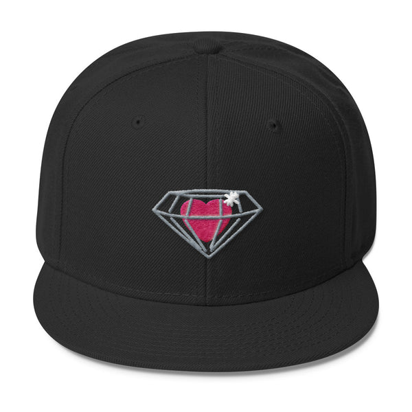 Diamond Heart Snapback