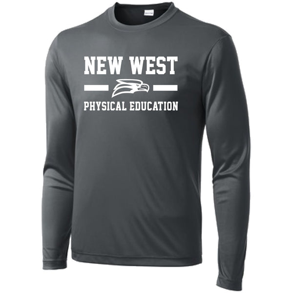 Phys. Ed NEW Long Sleeve Dri-Fit Tee