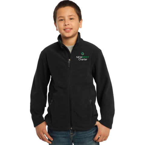 PRO FLEECE FULL-ZIP JACKET - YOUTH
