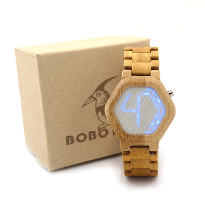 dp quartz scale sports numeral amazon luminous wooden bamboo large bobo bobobird face watch lightweight com casual s watches bird men
