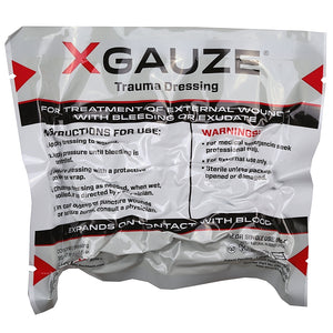 XGauze Expanding Trauma Dressing - V Development Group edc glock shirt carry aiwb appendix belt rmt tourniquet