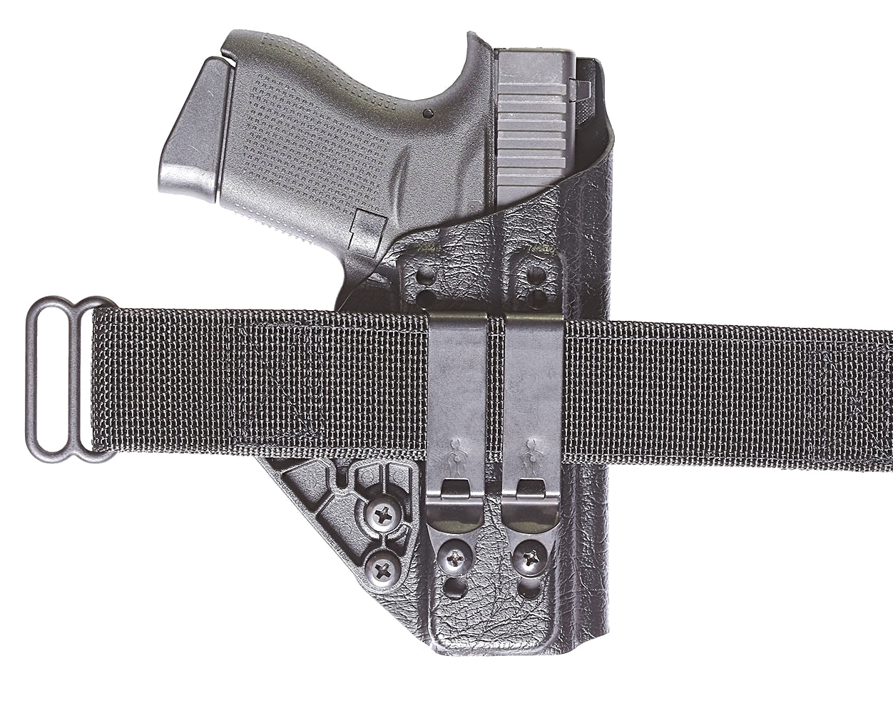 "Mod 1 1.75"" HLR Discreet Gear Clip - V Development Group edc glock shirt carry aiwb appendix belt rmt tourniquet"