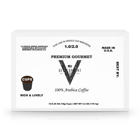 60 Pack Single Serve Coffee Capsules - V Development Group edc glock shirt carry aiwb appendix belt rmt tourniquet