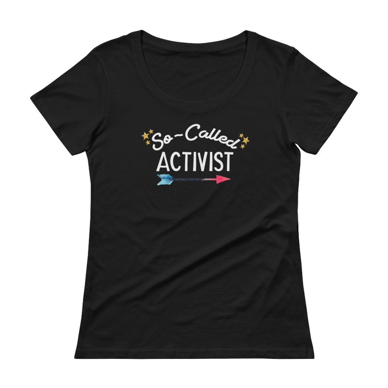 So-Called Activist Ladies Scoopneck Tee