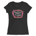 Nevertheless, She Persisted Ladies Triblend Tee