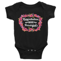 Nevertheless, She Persisted Baby Bodysuit