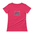 Resist and March Ladies Scoopneck Tee