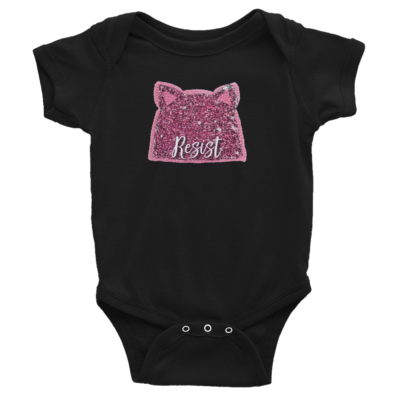 Resist and March Baby Bodysuit
