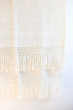Aire Alpaca Throw - Cream