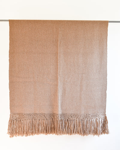 Aire Alpaca Throw - Earth