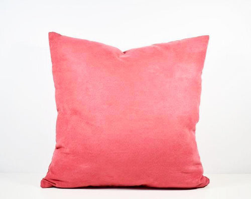 Pink Velveteen Pillow