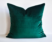 Velvet Pillow - Forest Green
