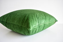 Velvet Pillow - Moss Green