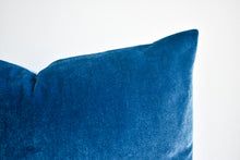 Velvet Pillow - Royal Blue Lumbar