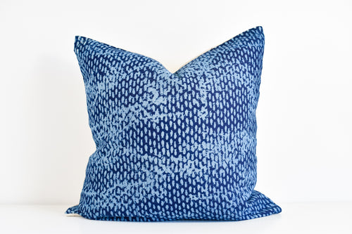Hmong Block Print Pillow
