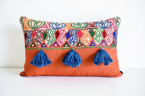 Bebo Vintage Indian Pillow