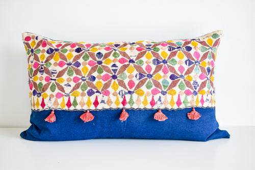 Amrit Vintage Indian Pillow