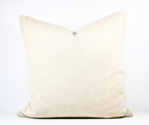 Hmong Hemp Thin Stripe Pillow - Large