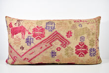 Rare Vintage Tai Lu Embroidered Pillow