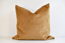 Velvet Pillow - Cashew