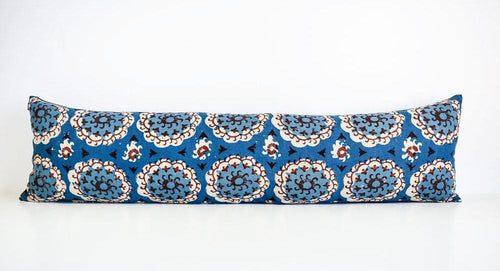 Double Long Suzani Pillow